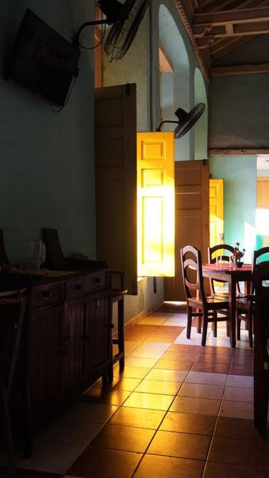 Yellow Shutter Doors, Resturant, Camagüey, Cuba
