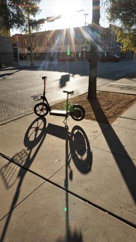 Evening Light strret bike San Antonio
