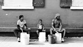 Street Drummers, New Orleans