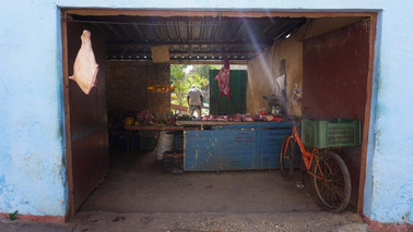 Butcher, Camagüey, Cuba