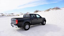 Nissan Truck White Sands National Monument