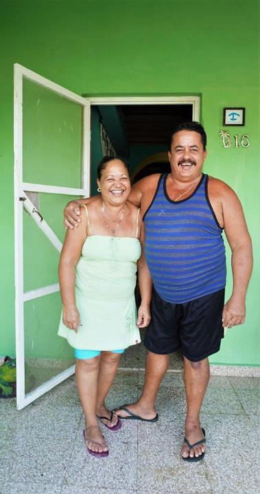 Roberto & Yolanda, Cuban hosts, La Boca, Cuba