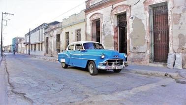 Cuban Vintage Car, Camagüey, Cuba