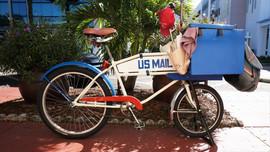 US Mail Bicycle, St. Petersburg