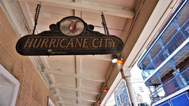 Hurrican City Pub Sign, New Orleans