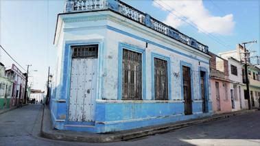 Colourful building, Camagüey, Cuba