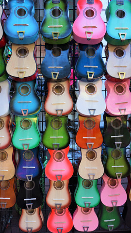 Guitars, Central Market, San Antonio