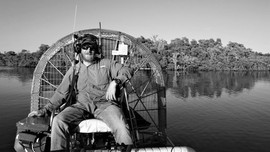 Airboat & Driver