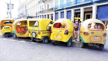 Cocotaxi Rank, Havana, Cuba