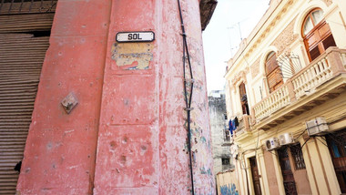 Sol St., Havana, Cuba