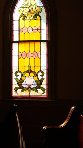 Stain Glass Window, St. Francisville