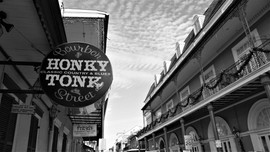 Honky Tonk, Bourbon Street, New Orleans