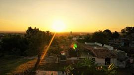 Sunset over Trinidad, Cuba