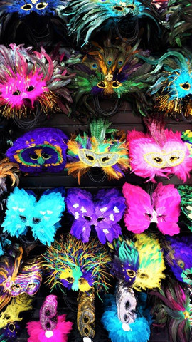 Festival Masks, New Orleans