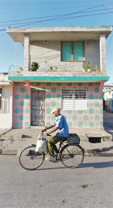 Cuban Life, Man On Bicycle, Cuban  Camagüey