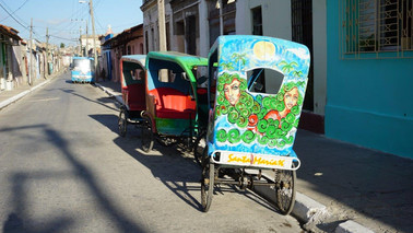 Rickshaw, Camagüey, Cuba