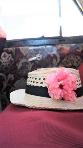 Cuban fedora hat, Trinidad, Cuba