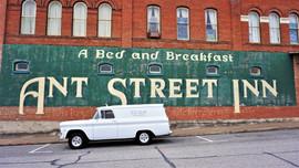 Ant Street Inn Mural, Brenham
