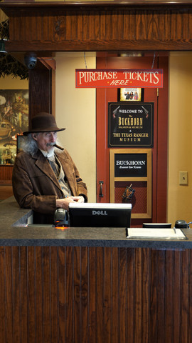 The owner of the Buckhorn Saloon and Museum