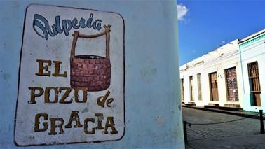 Street corner, Camagüey, Cuba