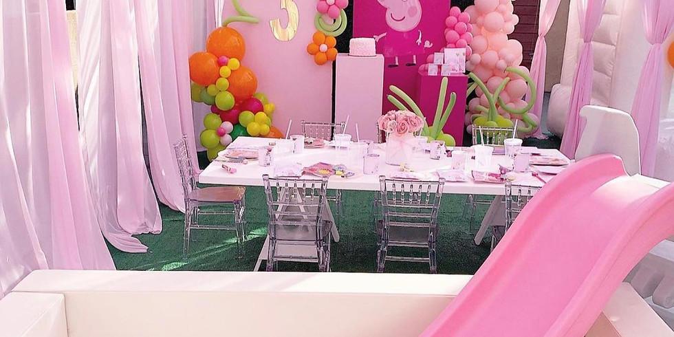 Magical princess tea party