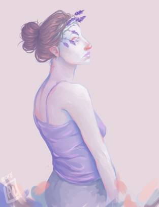 """Lavender,"" by Abby Hope"