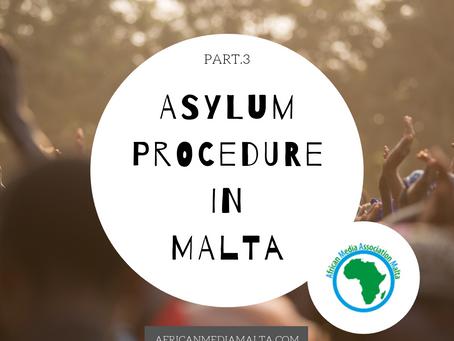 Asylum procedure in Malta part.3