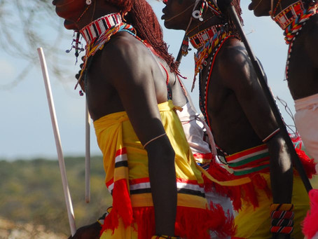 Cultural series on weddings in Africa and in Europe. Today, Kenya