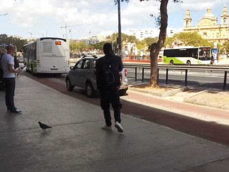 My Unscheduled Bus Station Interview with an African Refugee