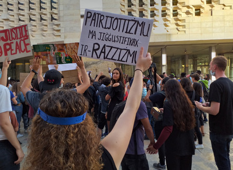 Black Lives Matter Malta joins the global fight against systemic and institutionalized racism