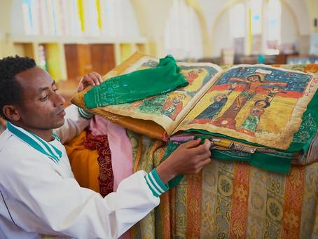 Ethiopia's stolen treasures on display in a London museum