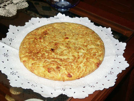 Cultural series on Food from Africa and Europe. Today, Tortilla de Patatas