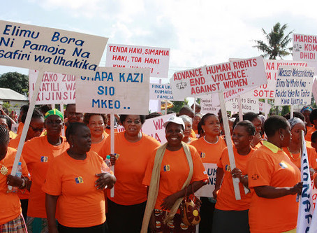 Orange the World: Generation Equality Stands Against Rape on November 25