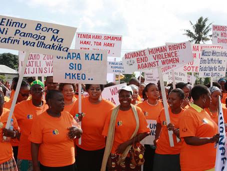 Orange the World: Generation Equality Stands Against Rape on November 25