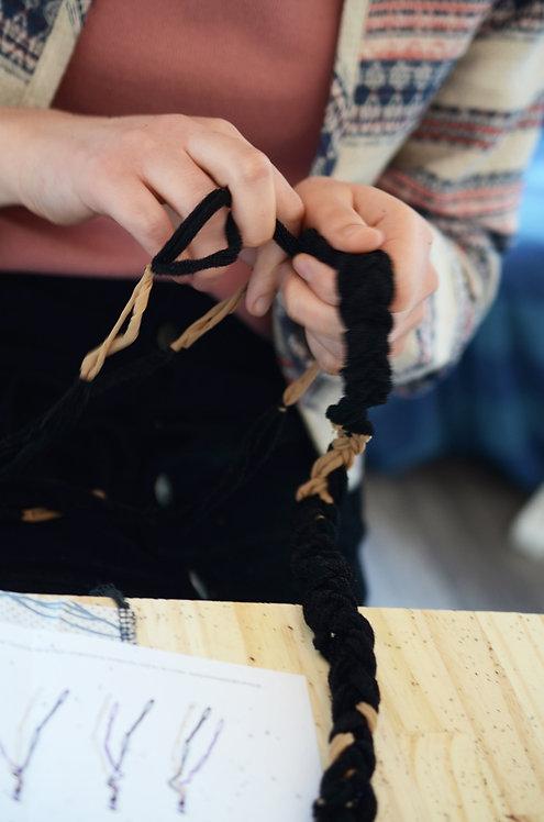 Duo Kit DIY_Suspension Florale & Kit DIY_Bracelet, Bandeau & Ceinture