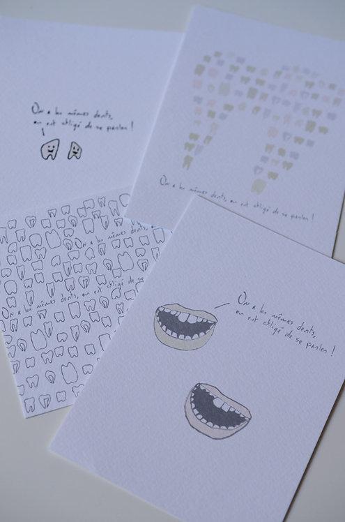 Carte Postale_Les Mêmes Dents