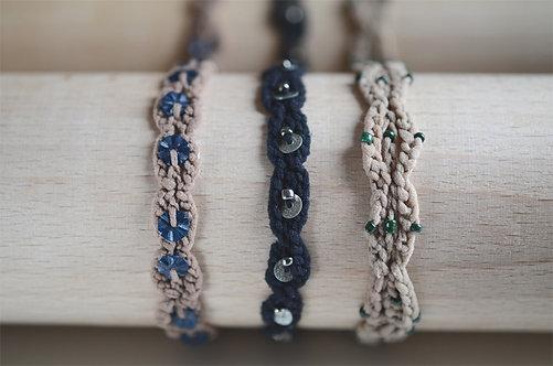 Bracelet Auréole Perlé