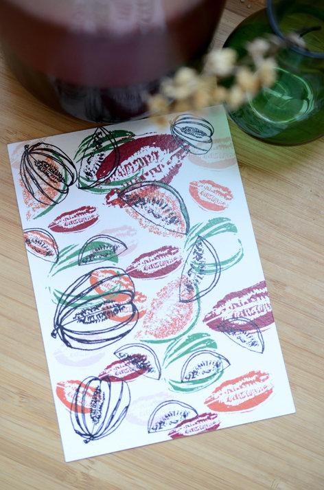 Carte Postale_La Prise de Melon
