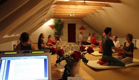 Workshop com Prem Samit no ZEGG Alemanha 2011