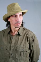 portrait of man in hat