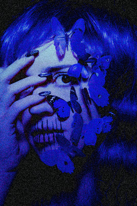 Moody Blue Noise Tracy Whiteside