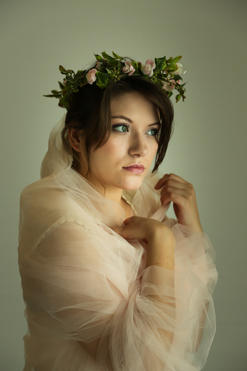 photo of beautiful girl maiden
