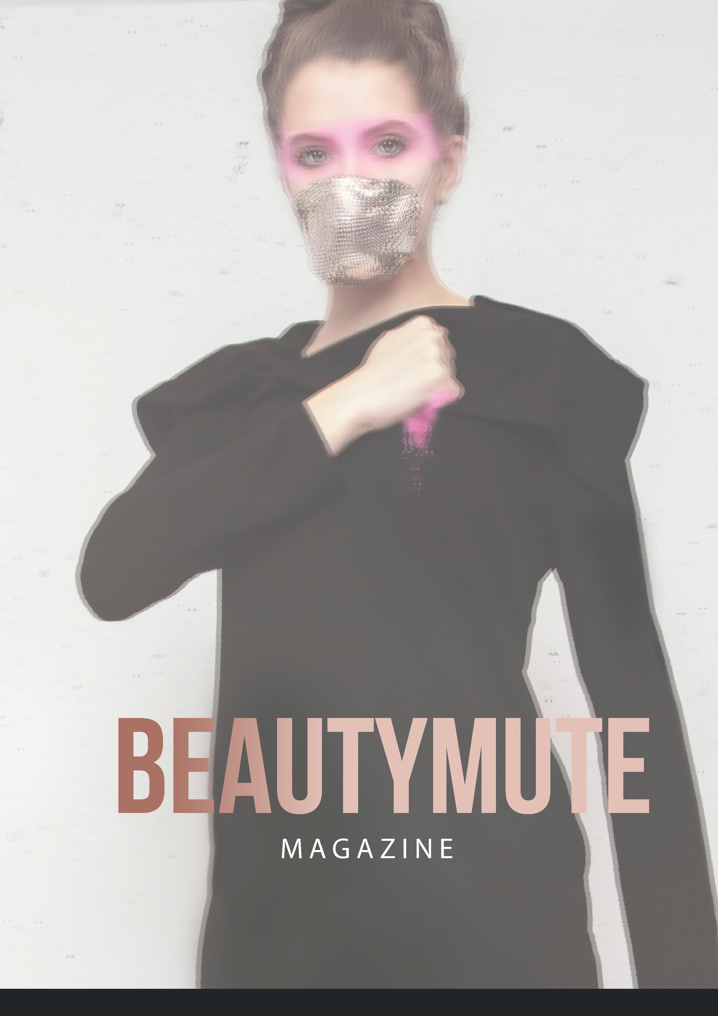 Beauty Mute Magazine Back Cover