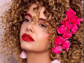 Pink Beauty Photography Editorial