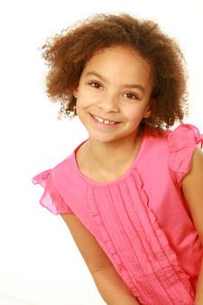 Image of little girl smiling