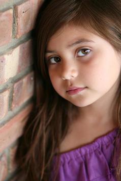 Portrait of girl in natural light