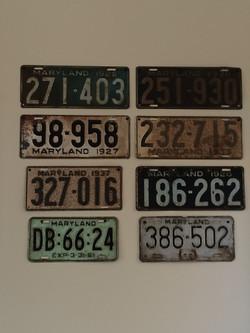 Item: Expired license plates