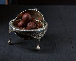 Item: Silver candy bowl