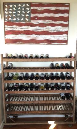 Item: Antique shoe rack