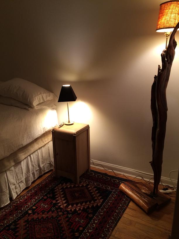 Item: Driftwood floorlamp